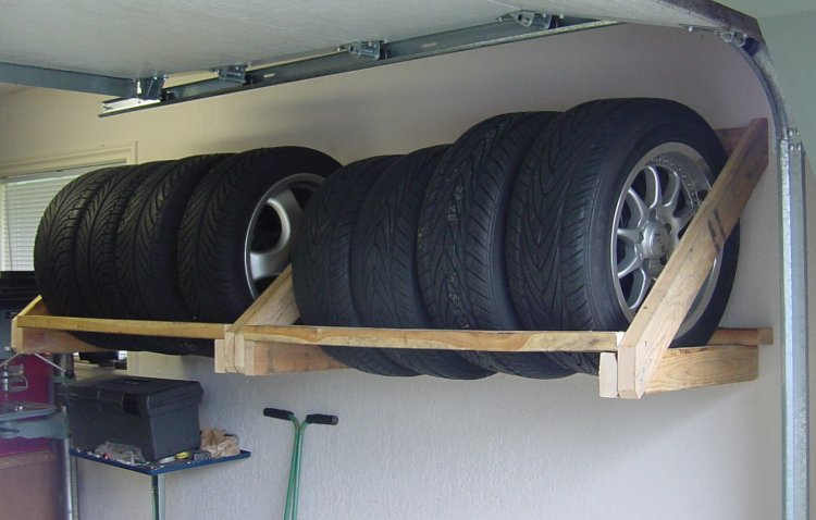 MR2 Forums DIY Tire Rack