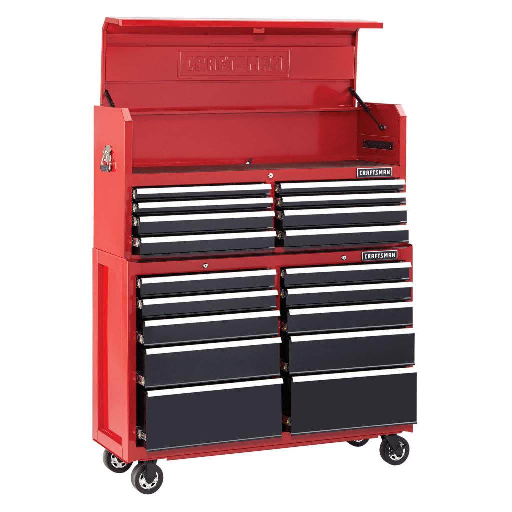 52 inch Heavy Duty Craftsman Tool Storage Set