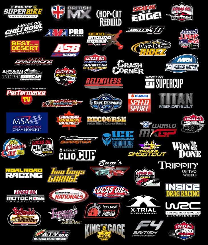 Lucas Oil Racing TV Programming