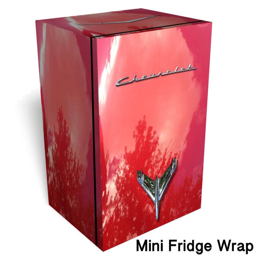 RM Wraps Mini-Fridge Wraps - Chevrolet