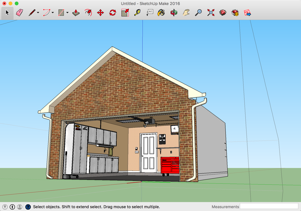 SketchUp Garage