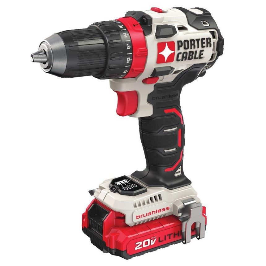 Porter Cable Brushless EDGE 20V MAX Drill