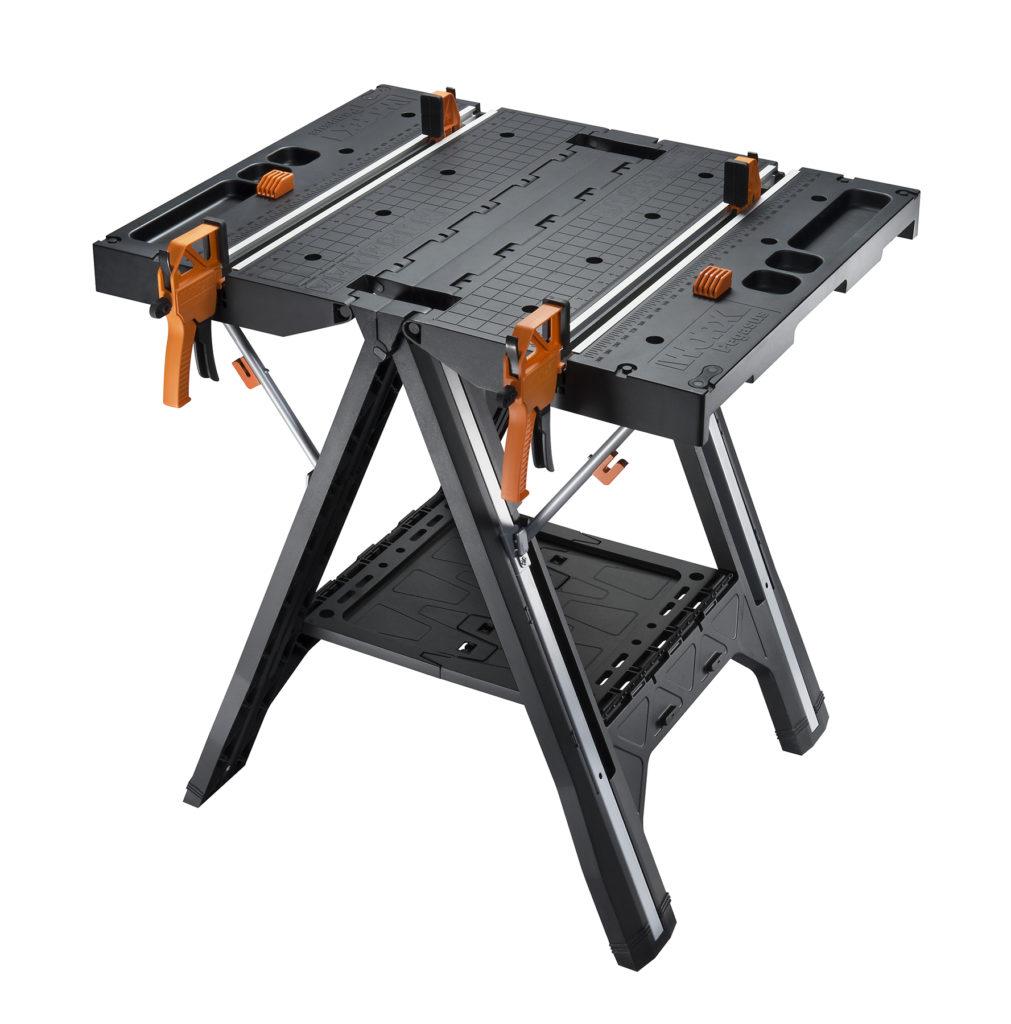WORX Pegasus Portable Sawhorse & Work Table Combo - Work Table Mode
