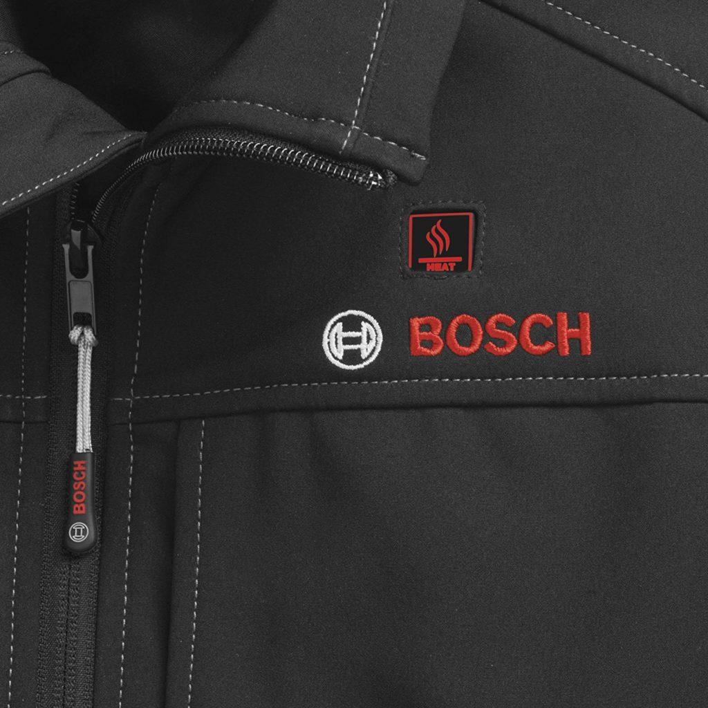 Bosch Heated Jacket - Heat Settings