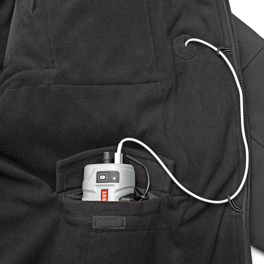 Craftsman Heated Jacket - Battery Pocket