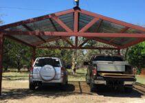 A Metal Carport Build