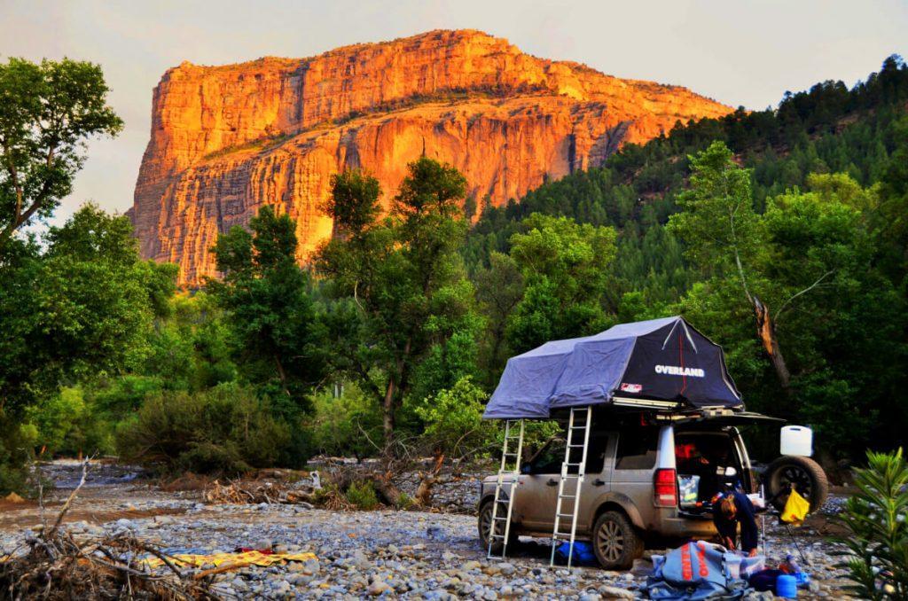 Range Rover tent