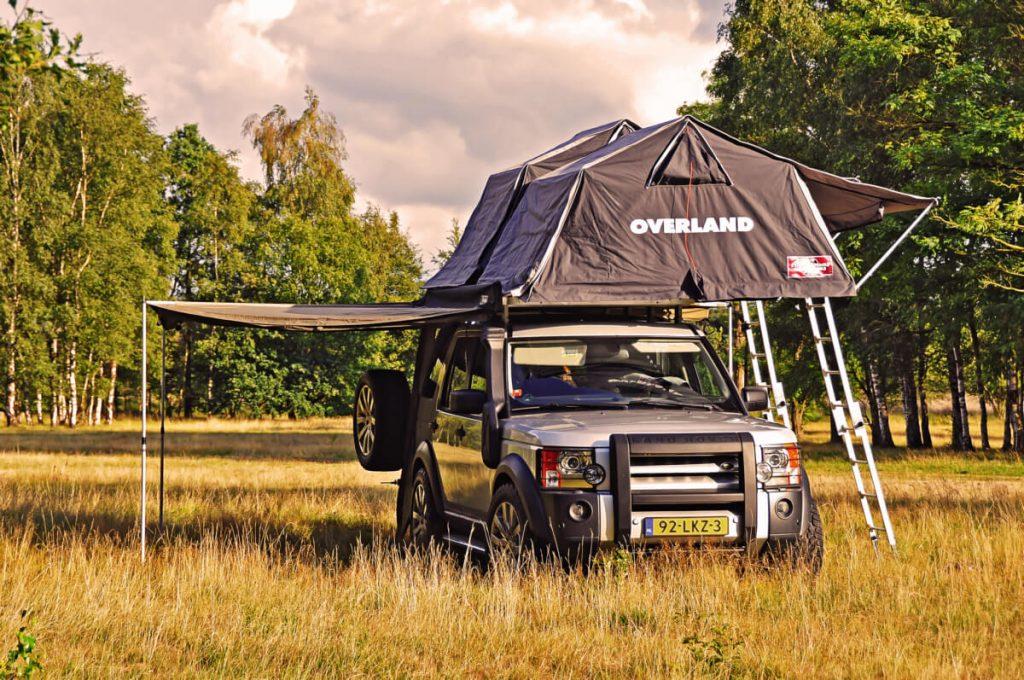 Land Rover Overlanding tent
