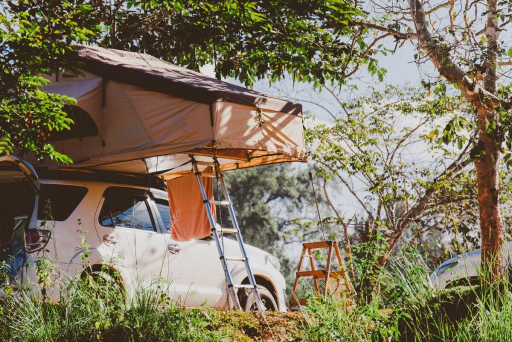 Overlanding tent