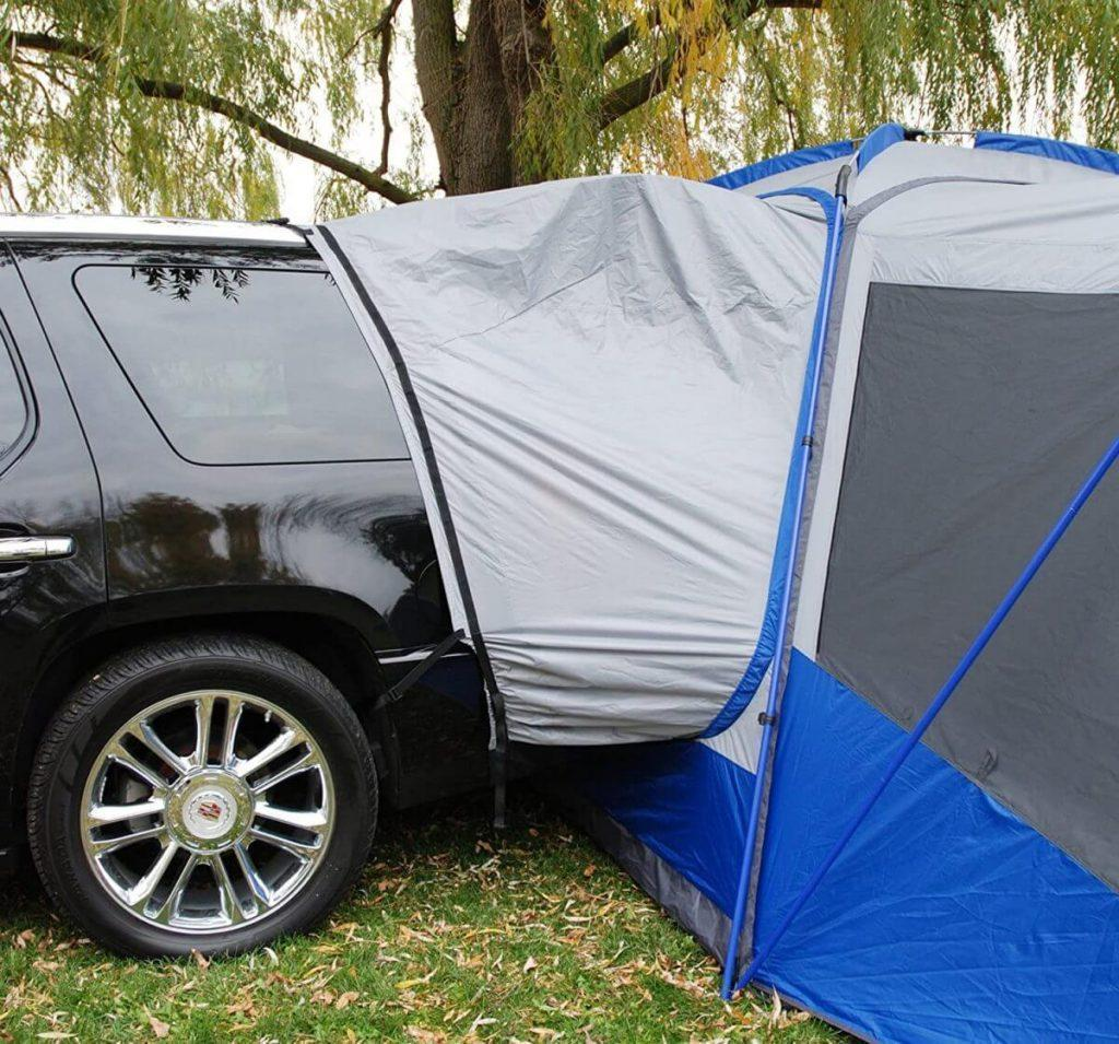 Napier Sportz SUV Tent fitted to vehicle