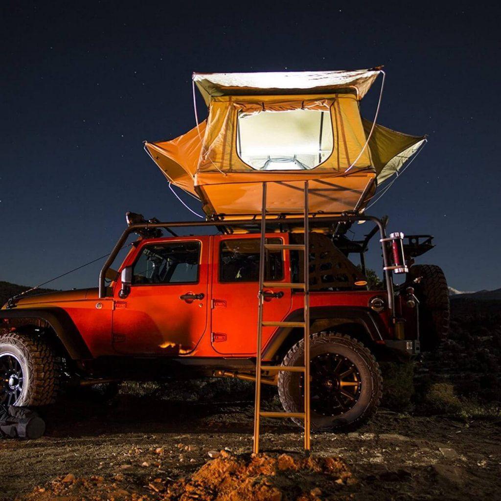 Smittybilt Tent on a Jeep