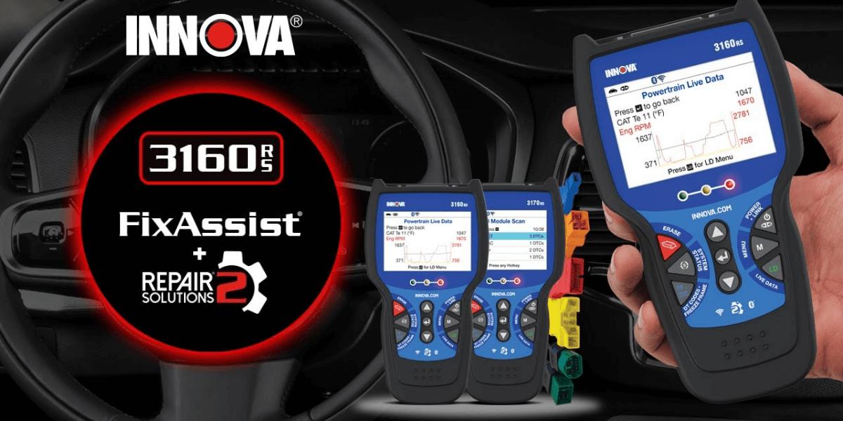 INNOVA 3160RS Pro OBD2 Scanner Review