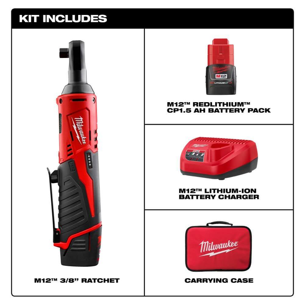 Milwaukee 2457-21 Kit accessories