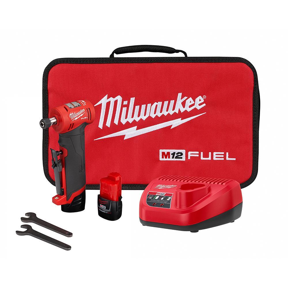 Milwaukee M12 FUEL Cordless Die Grinder
