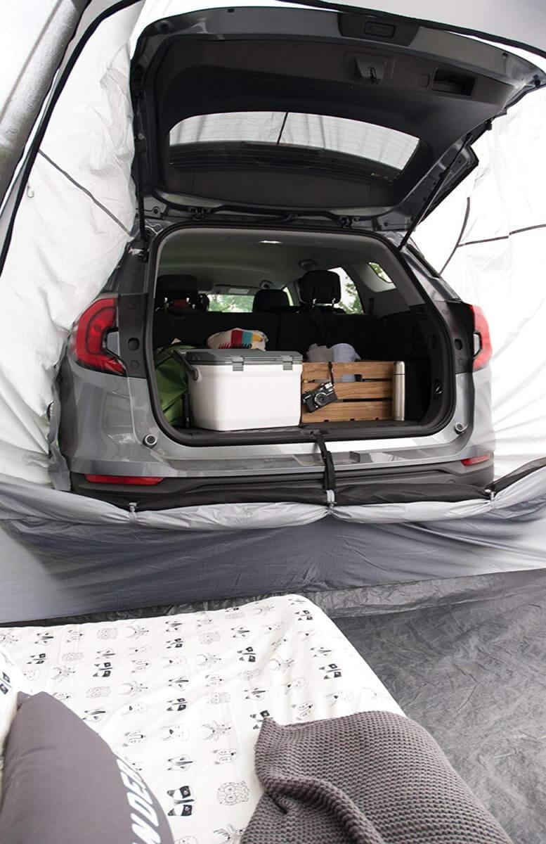 Napier Backroadz SUV Tent - Trunk view