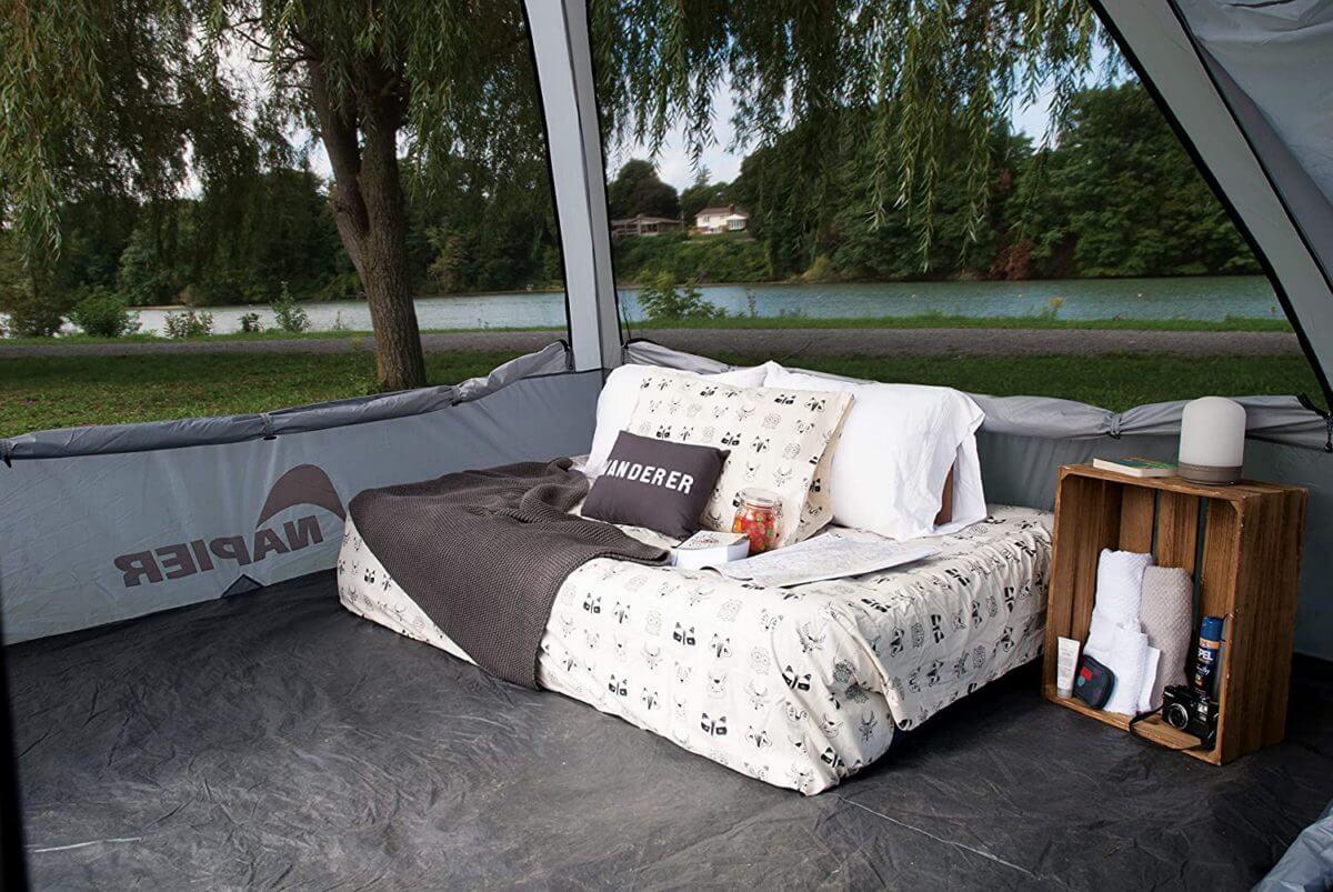 Napier Backroadz SUV Tent interior