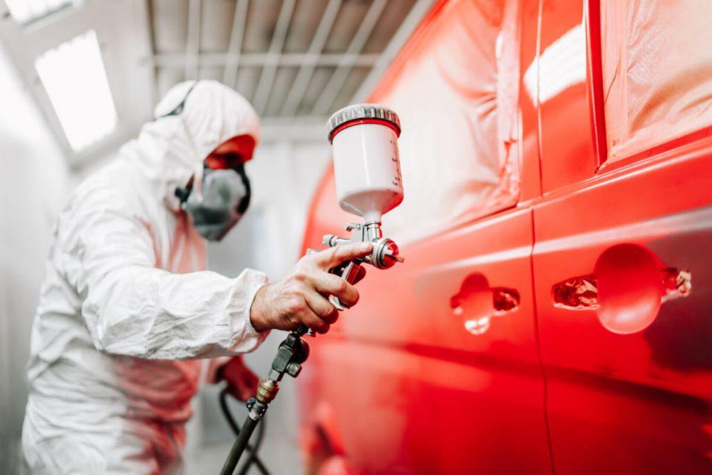 Professional auto motive painter
