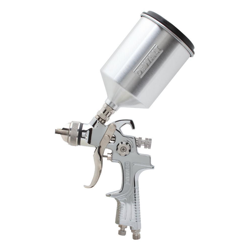 DeWalt Gravity Feed HVLP Spray Gun
