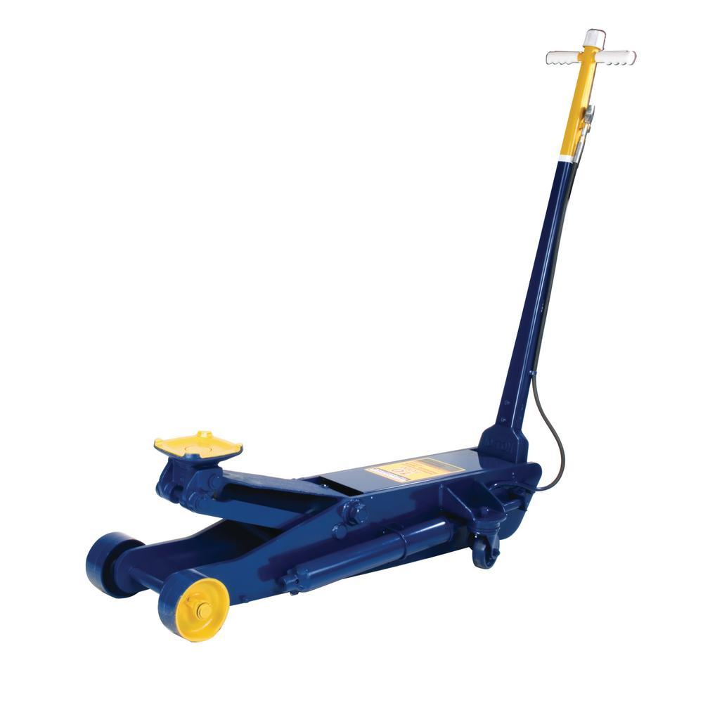 Hein-Werner HW93662 10-Ton Capacity Blue Air/Hydraulic Service Jack