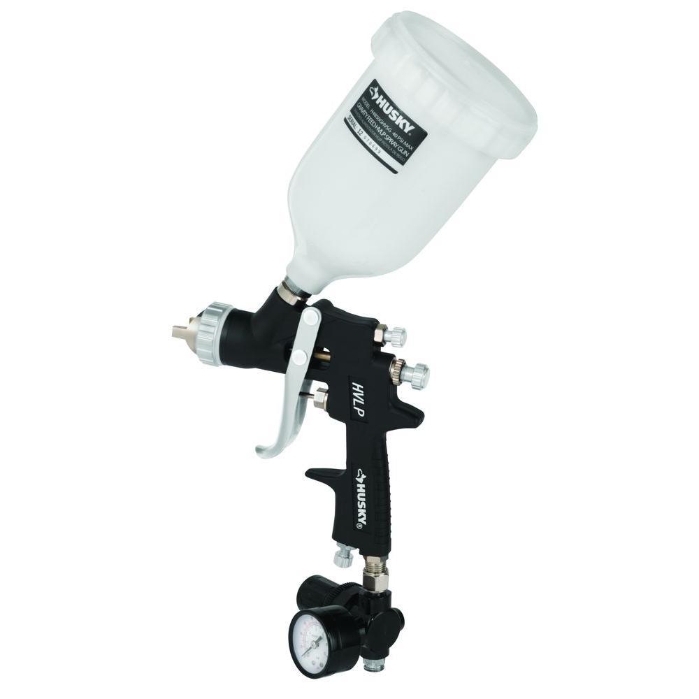 Husky Gravity Feed Composite HVLP Spray Gun