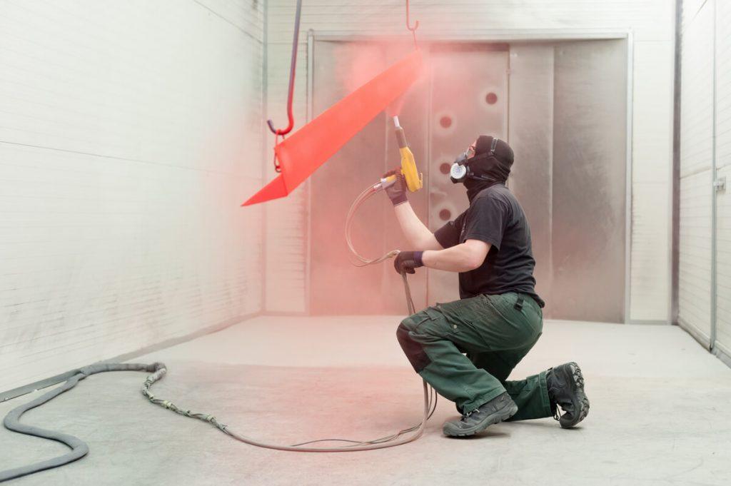 Powder coating technician