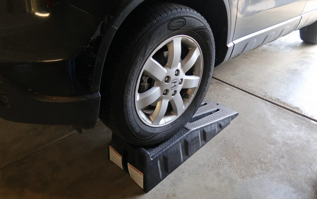 plastic car ramps