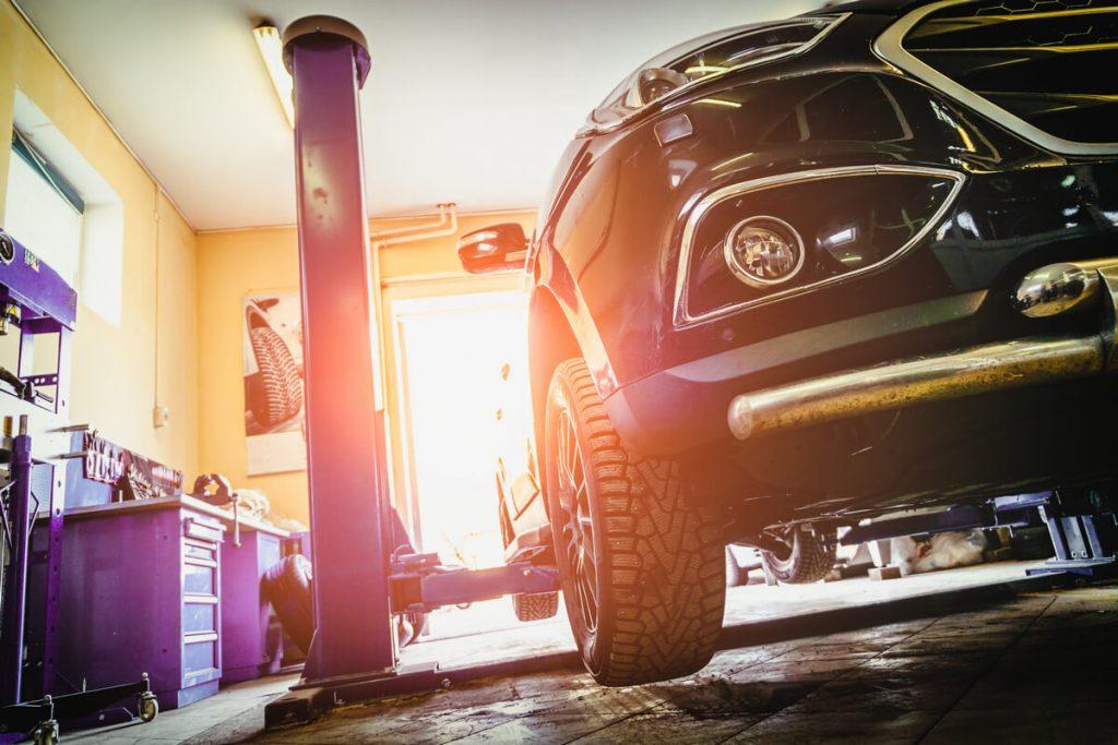 home garage car lift