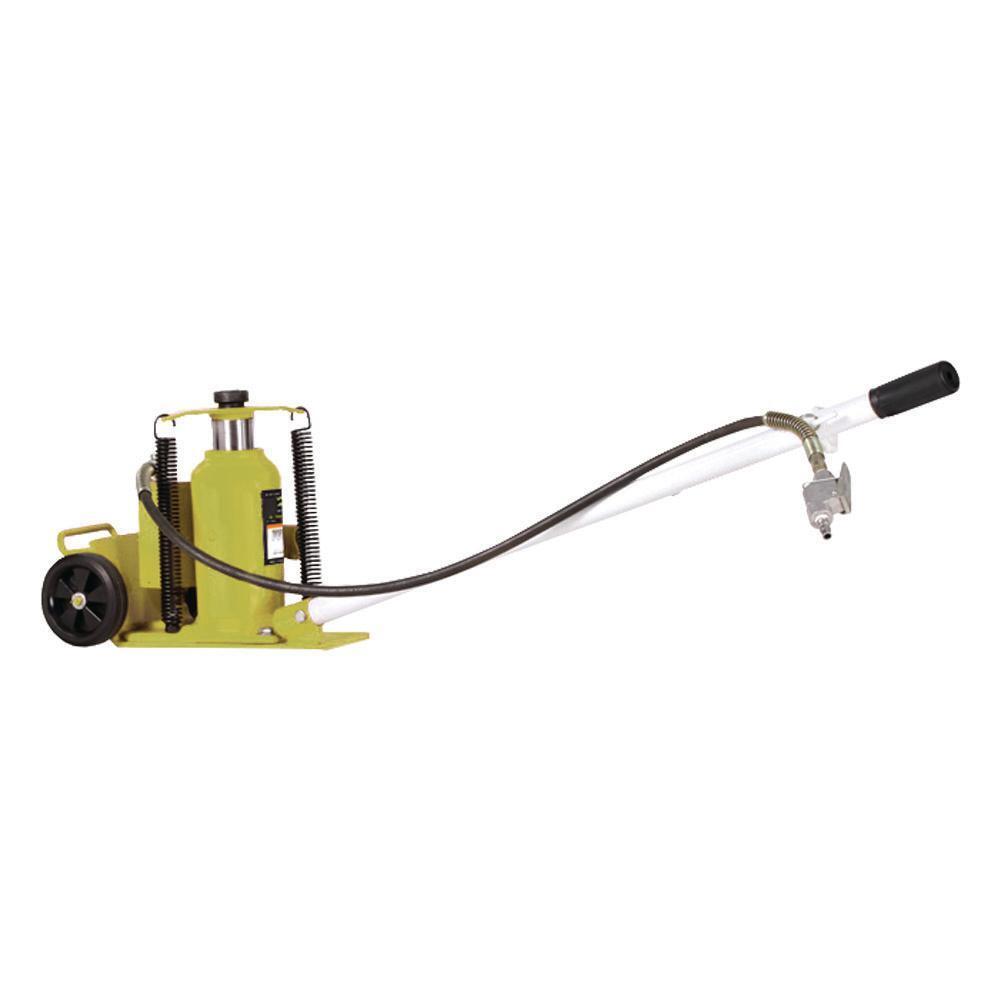 Esco 10447 Air/Manual Hydraulic Bottle Jack Cart