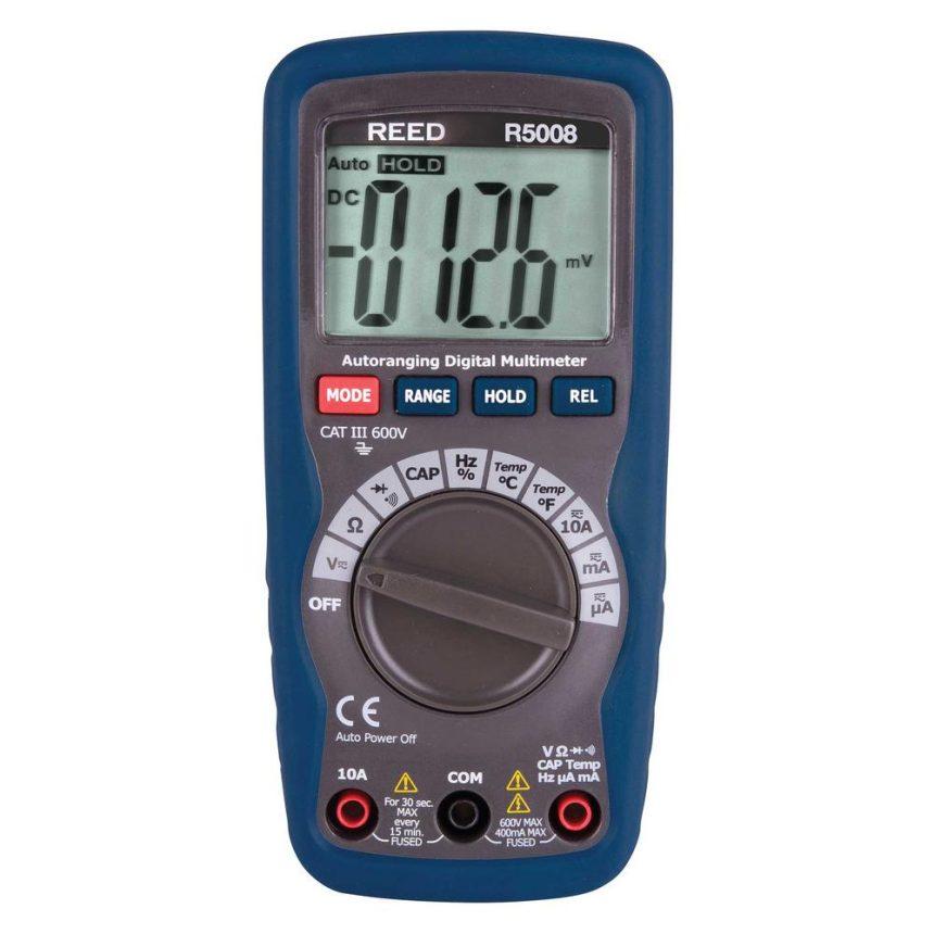 Reed Instruments R5008 Compact Digital Multimeter