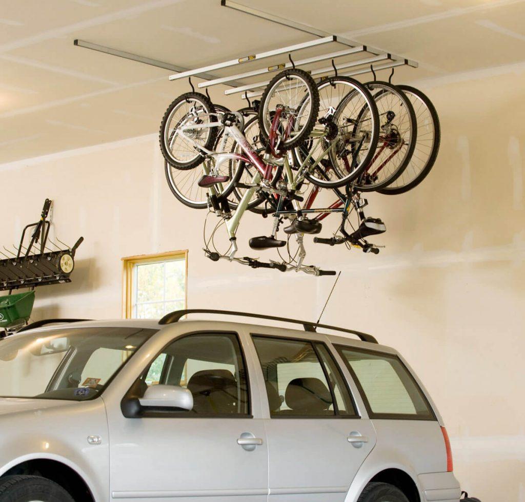 Saris ceiling bike rack