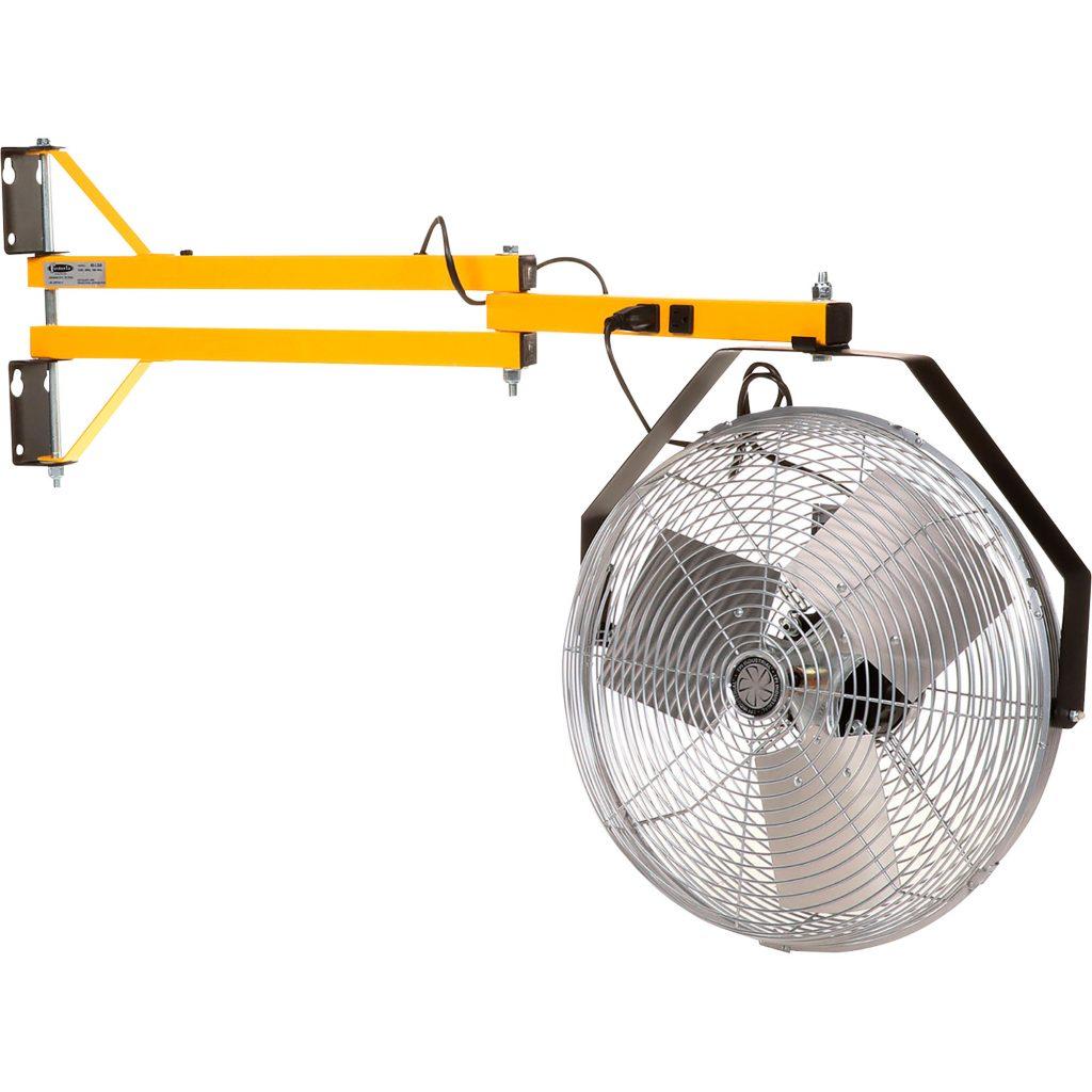 TPI High-Velocity Wall-Mount Fan