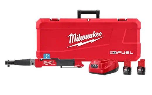Milwaukee 2466-22 M12 FUEL Digital Torque Wrench with One-Key Kit