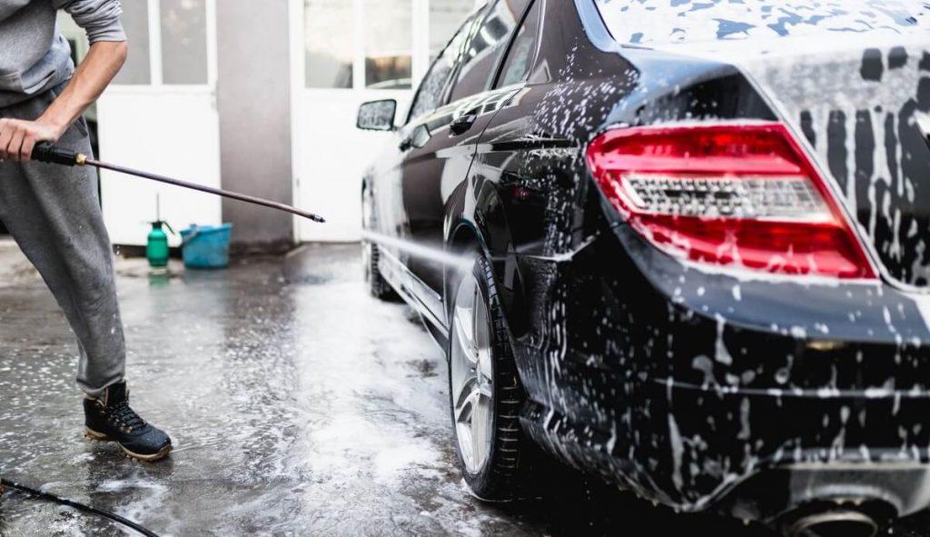 Step 1. Wash the car