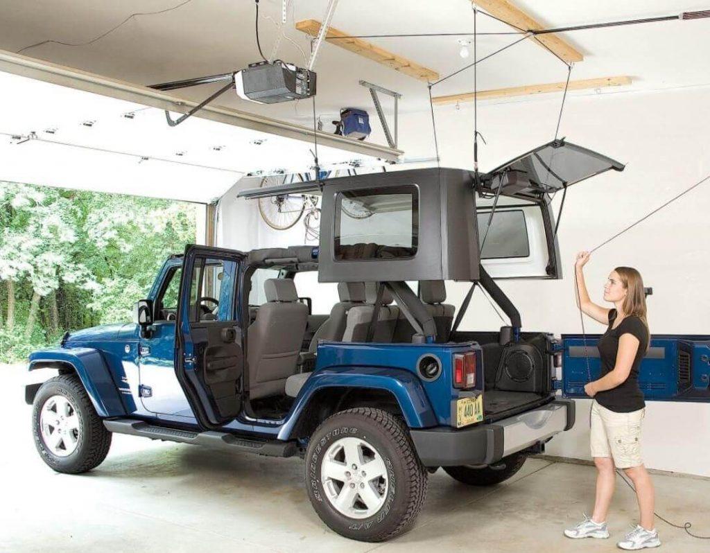 HARKEN Jeep Hardtop Garage Storage Hoist