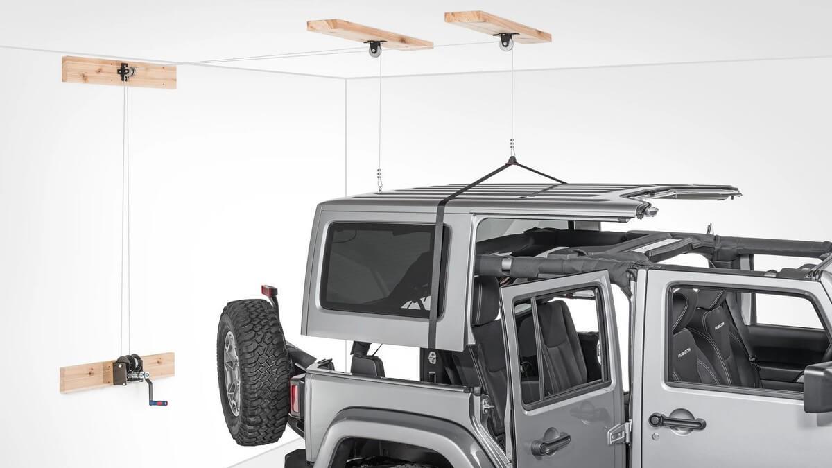 Lange Originals Hoist-A-Top Best Jeep Hardtop Hoist