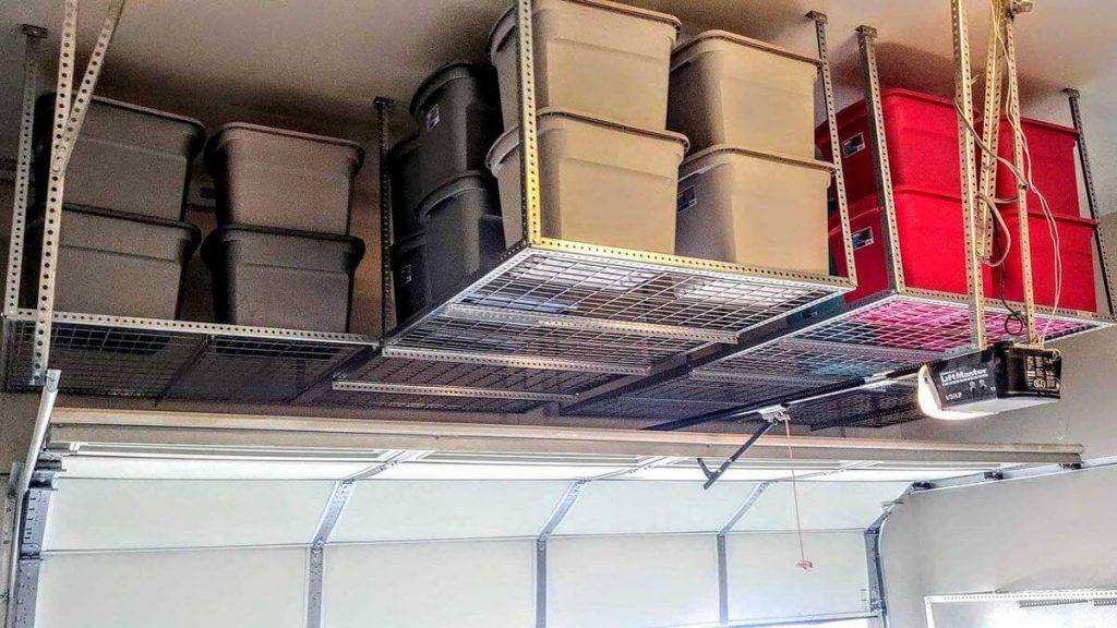 Best Overhead Ceiling Racks for Garage Storage