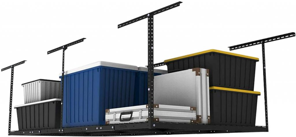 FLEXIMOUNTS GR48B Overhead Garage Storage Rack