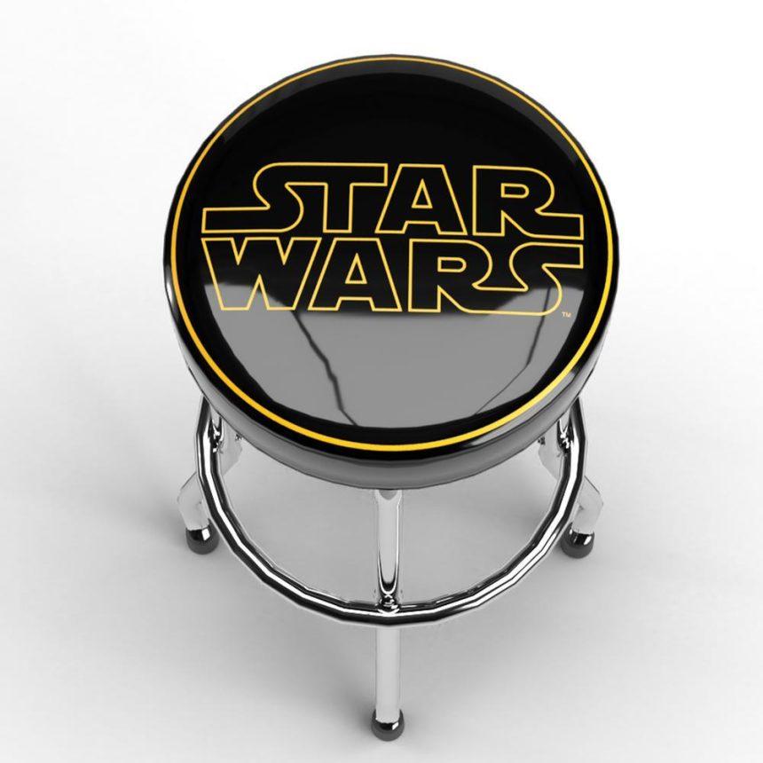 Star Wars Logo Garage Stool