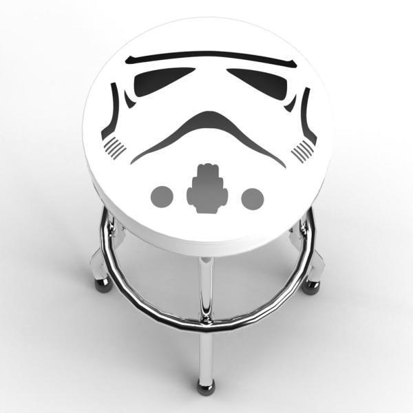 Storm Trooper Garage Stool